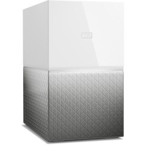 WD My Cloud Home Duo 4TB - White Silver