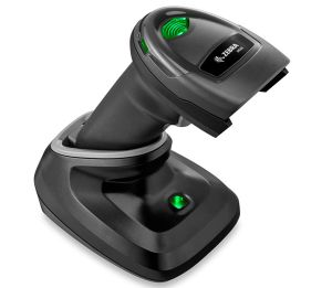 ZEBRA DS2278 Bluetooth Wireless Barcode Scanner Black with USB Cradle Charger
